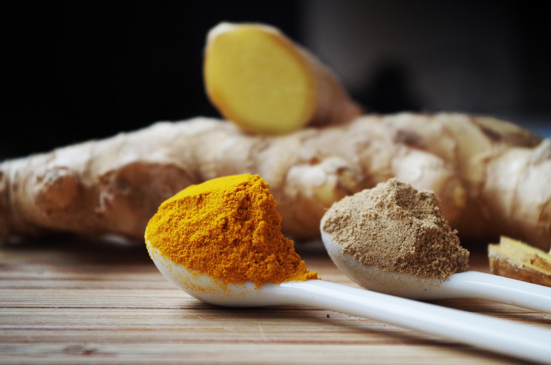 ginger-1191945_1920 turmeric pepper powder